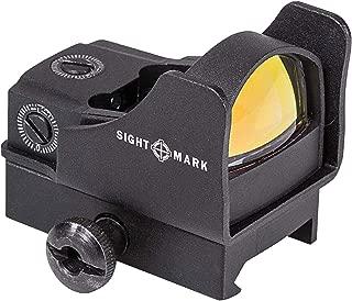 Sightmark SM26006 Mini Shot Pro Spec with Riser Mount, Red (Renewed)