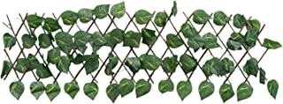 YARNOW Trellis Fence Panels Artificial Hedges Faux Ivy Leaves Fence Privacy Screen Cover Panels Decorative Trellis Wall...