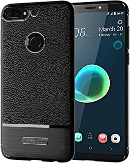 Ainoke case for HTC U12 Plus case,Full Cover Ultra Thin Matte Anti Slip Scratch Resistant and Flexible Rubber Protective Cover for HTC U12+ case,TPU Bumper Protective Case for U12 Plus case(Black)