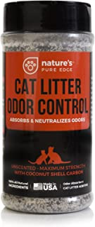 Nature's Pure Edge Cat Litter Deodorizer - Non-Toxic Odor Neutralizer 16oz