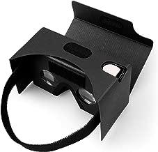 Google Cardboard, Splaks V2 3D VR Realtà Virtuale Occhiali 3D Virtua Per Iphone e Smartphone come Samsung, Xiaomi,Huawei etc.( 4.0-6.0 Pollici) (Nero)