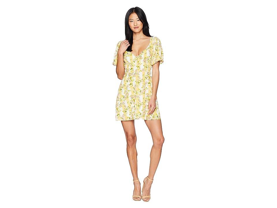 For Love and Lemons Atlanta Mini Dress (Buttercreme) Women