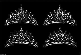 Best rhinestone crown iron on Reviews