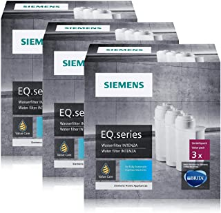 Siemens Brita Intenza Filtre à eau tz70033Cartouches 3(Lot de 3)