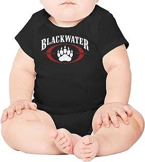 SDHAK Blackwater-Tactical-Military-zb- Unisex Boys Girls Short Sleeve Baby Onesie Vintage Funny Onesies