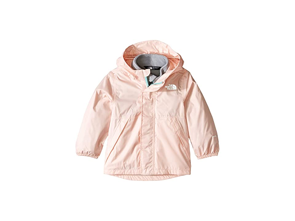 The North Face Kids Stormy Rain Triclimate(r) Jacket (Toddler) (Pink Salt) Girl
