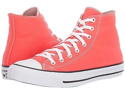 Converse Chuck Taylor(r) All Star(r) Seasonal Hi (Bright Crimson) Classic Shoes