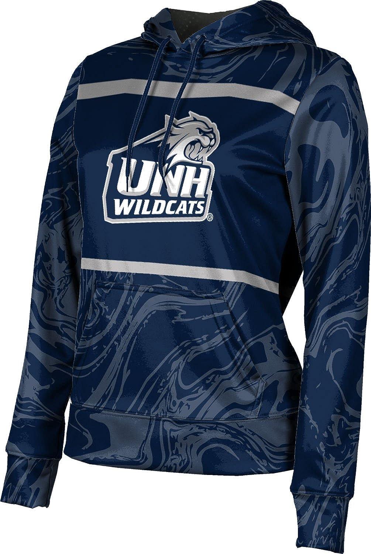 ProSphere University of New Hampshire Girls' Pullover Hoodie, School Spirit Sweatshirt (Ripple)