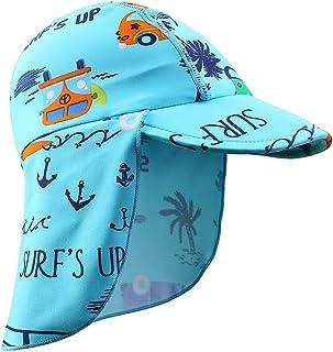 HUAANIUE Bonnets de Bain Enfants Unisexe Gar/çon Fille Combinaison Bonnets de Bain Anti-UV 6M-6Ans