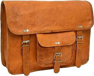 Gusti Lederrucksack Cityrucksack Vintage Braun Leder
