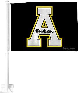 Rico Industries NCAA Unisex-Adult Car Flag