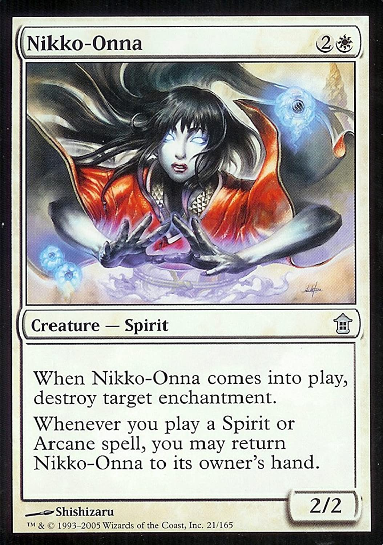 Magic  the Gathering - Nikko-Onna - Saviors of Kamigawa by Magic  the Gathering