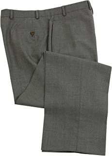 Ralph Lauren Wool Dress Pants For Men Classic Flat Front Style Trousers