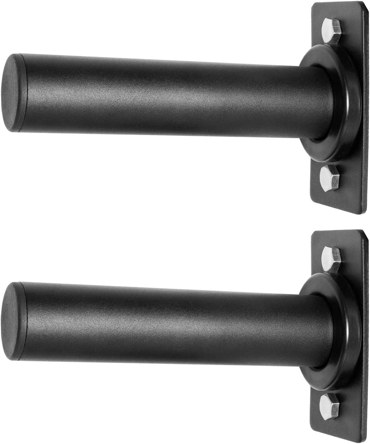 """RIGERS Wall Mounted Olympic Weight Plate Holder - Fits 2"""" Olympic Weight Plates (Pair) : Sports & Outdoors"""
