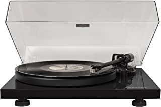 Crosley C6 2-Speed Turntable, Vinyl Turntable w/ Built-in Pre-Amp and Adjustable Tone Arm - Black