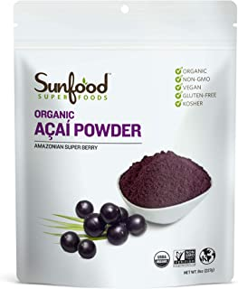 Sunfood Acai Powder (8 Ounces)