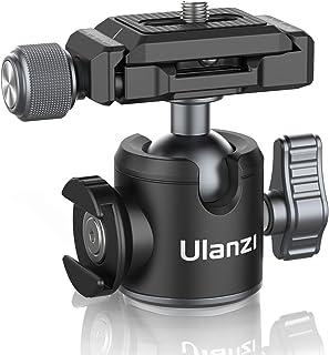 ULANZI U-80L Ball Head Camera Tripod Heads Metal 360 Degree Rotating Panoramic, 1/4 inch Arca Quick Release Plate & Cold S...
