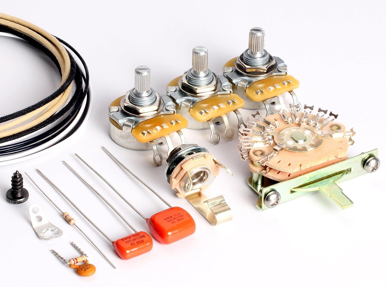 Kit de cuerdas para guitarra ToneShaper, para Fender HSS Stratocaster, HSS2 (cableado autodivisible)