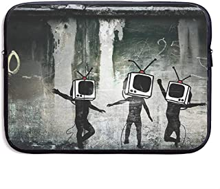 Street Graffiti Art Waterproof Laptop Sleeve Case Portable Business Notebook Liner Protective Bag for MacBook Pro MacBook Air Dell 15 Inch 38X29X3 5