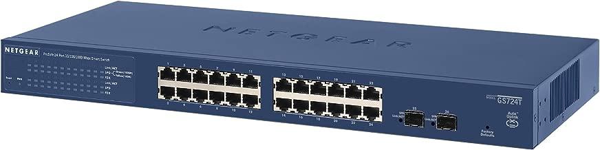 NETGEAR ProSAFE 24-Port Managed L3 Gigabit Ethernet (10/100/1000) Switch Blue