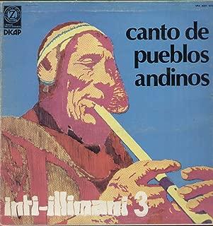 Inti-illimani - Musica Y Canto De Los Pueblos Andinos LP (1985)