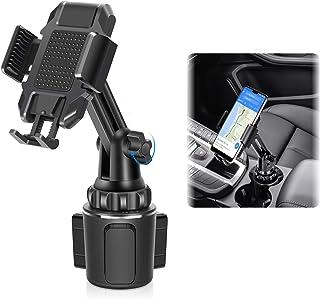 LEXY Handyhalterung Auto Becherhalter, Universal Handy Halterung Halter Kfz Becherhalter für iPhone12 pro/11/8/7 Xs/XR/Max/X/Plus/Samsung Galaxy S20/S10/S9 Note Nexus Sony/HTC/Huawei/Nokia