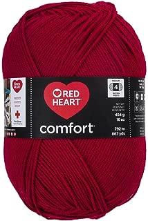 Red Heart Comfort Yarn, Cardinal Red