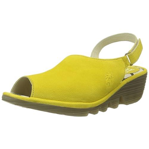 79e98b3cd98a Fly London Women s Palp814fly Sling Back Sandals
