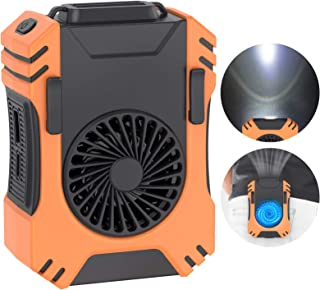 $25 » Sponsored Ad - YTYOMUR Multi-Function Clip on Waist Fan, 3 In 1 Spotlight(100 Meter) Power Bank, Portable Cooling Fan Supp...