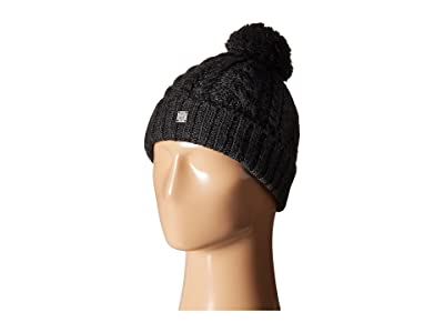 Smartwool Ski Town Hat (Charcoal Heather) Beanies