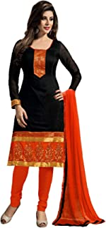 Karva Fashion Women Georgette Long Anarkali Salwar Suit/Gown With Dupatta-15