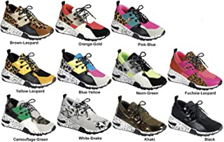 LuxeFootwear Womens Tennis Shoes