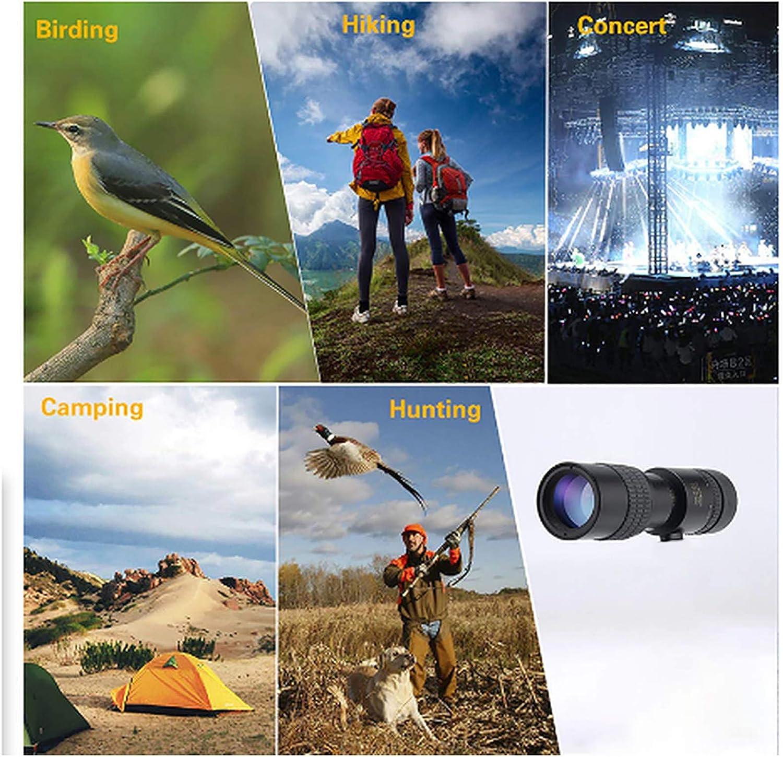 camping Vision nocturne pour observation des oiseaux T/élescope monoculaire Starscope 4K 10-300 x 40 mm match paysage sauvage Portable et /étanche