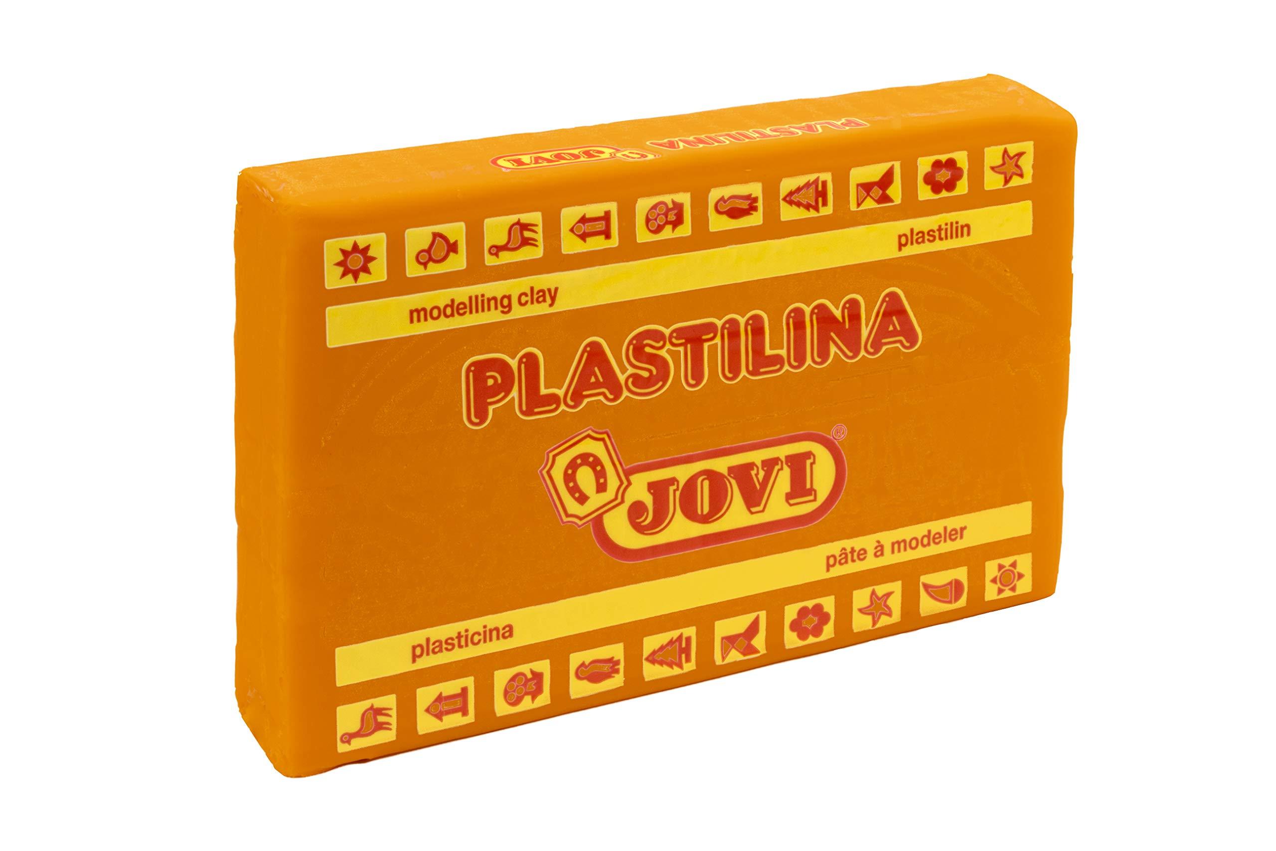 Jovi Caja de plastilina, 15 Pastillas 350 gr, Color Naranja (7204), Gramos: Amazon.es: Juguetes y juegos
