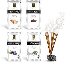 Zed Black Luxury Premium Incense Sticks Combo - 4 Different Fragrances for Aromatic Environment - Fragrance Incense Sticks
