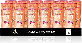 L'Oréal Paris Multi Pack Shampoo Dream Long Ripara Lunghezze per Capelli Lunghi e Lisci, 300 ml, Confezione da 12