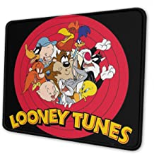 Vonicapl Looney Tunes Computer Mouse Pad with Non-Slip Rubber Base Premium-Textured Stitched Edges Mouse Pads for Computers Laptop Office /& Home