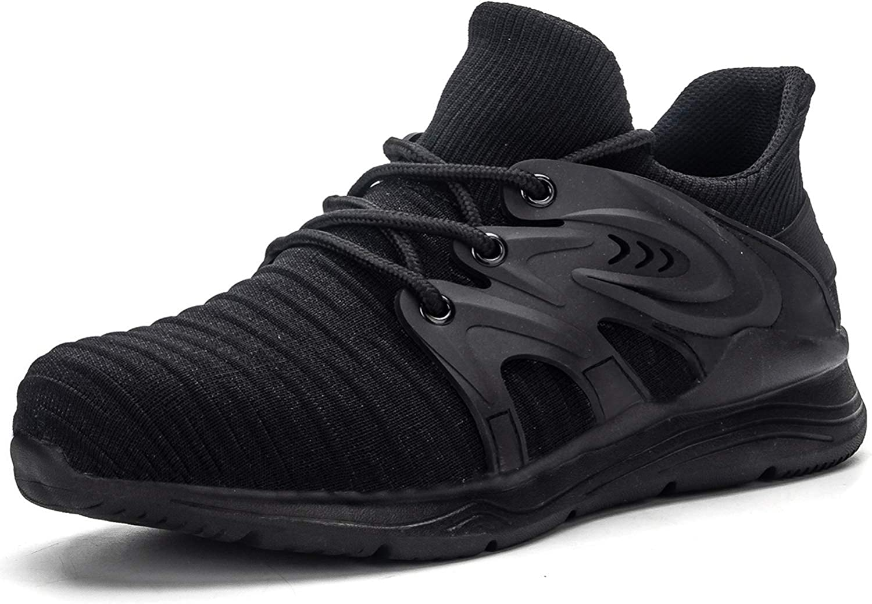 ALGGORUN Steel Toe Super intense SALE Sneakers for S Men Long Beach Mall Comfortable Anti-Puncture