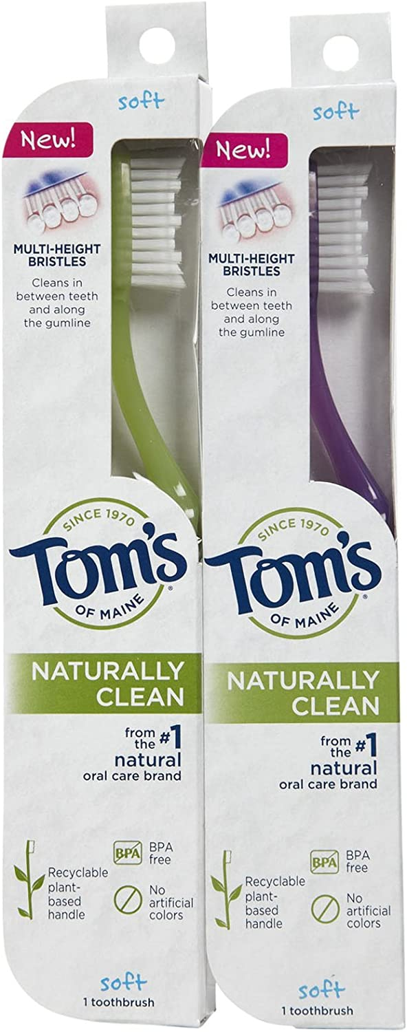 Tom's of Maine Dallas Mall Toothbrush pk - Soft 2 Don't miss the campaign