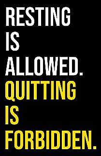 Damdekoli Motivational Quote Poster, 11x17 Inches, Wall Art, Hustling, Power Lifting Fitness Training, Decor, Inspirational Print
