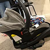 LiteMax DLX Infant Car Seat with FreeFlow Fabric SafeZone and Load Leg Base