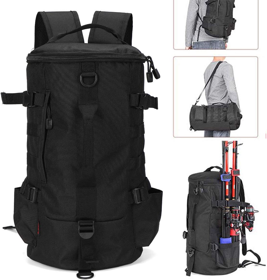 A-hyt Perfect New mail order Classic Fashion 23L Fishing Backpack Outs Bag Tool
