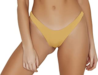 ToBeInStyle Women's Seamless Hi Leg Thong Bottom