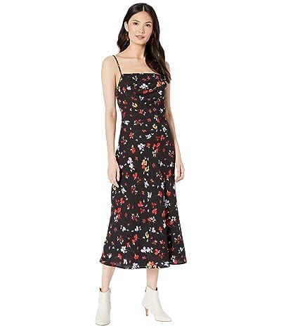 ASTR the Label Tenaya Dress (Black Multi Floral) Women