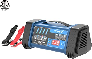 TOPAC 12 Volt 2/10/20A, 24 Volt 2/10A Smart Car Battery Charger