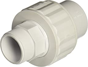 Hayward SP1484 1-1/2-Inch MIP by 1-1/2-Inch Socket White ABS Full-Flo Self-Aligning Double End Male/Female Union