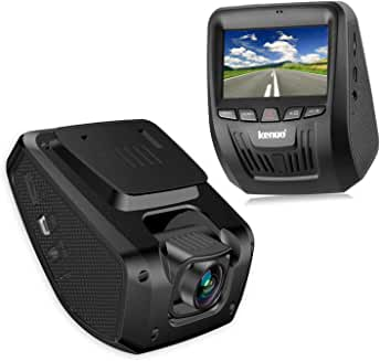 Kenuo 1080P Dash Cam With Loop Recording And Motion Detection