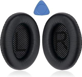 Professionele Bose QC35 Oorkussens Vervanging - Oordopjes voor Bose QuietComfort 35 I/II Over-Ear Hoofdtelefoon, Zwart