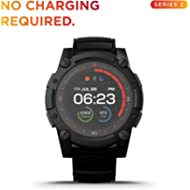 PowerWatch 2, Body Heat Powered Fitness Tracker Smart Watch, 200M Dive, GPS, Calorie and Step...