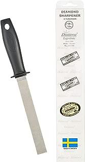 Dianova Cook -Professional Double Sided Diamond Knife Sharpener FINE/COARSE Premium Swedish Quality Diamond File